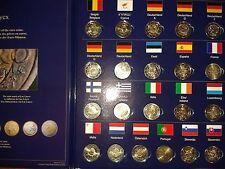 """collector de 21 pièces de 2 euros 2012 """"10 ans"""""""