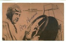 Authentic Autographed Ray Harroun Postcard   1911 Indianapolis 500 Winner