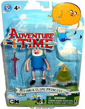 Adventure Time Finn & Slime Princess 3 Inch Figures Cartoon Network MIB RARE Toy