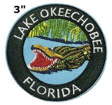 Lake Okeechobee National Park Patch Souvenir Travel Embroidered Iron / Sew-on