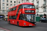 LT769 LTZ 1769 ABELLIO NEW ROUTEMASTER 30TH DEC 2017 6x4 London Bus Photo B