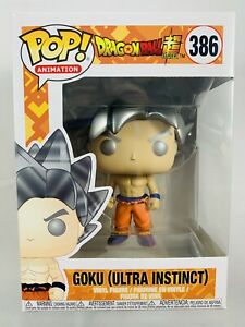 Funko Pop! Dragon Ball Super Goku (Ultra Instinct) #386 Brand New Free Shipping