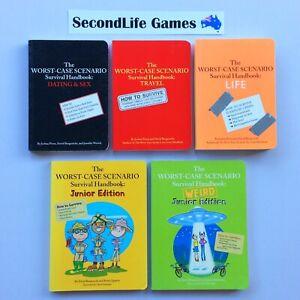 x5 WORST-CASE SCENARIO Survival Handbooks ~ Dating Travel Life Junior. H