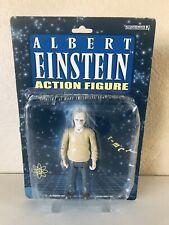 Albert Einstein Math Action Figure 2003 Super Hero by Accoutrements