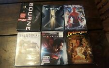 Lot Of 9 DVDs Used - Action And Super Heroes - Bourne trilogy - transformers