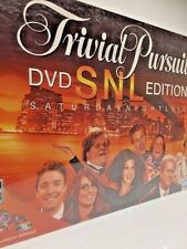 Trivial Pursuit DVD SNL Edition Board Game Adult