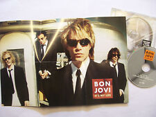 BON JOVI It's My Life  – 2000 UK CD POSTER-SLEEVE – Rock - BARGAIN!