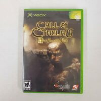 Call of Cthulhu: Dark Corners of the Earth Complete (Microsoft Xbox, 2005)