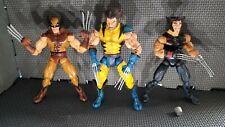 Wolverine Marvel Legends Figure Lot custom AoA series 5 & unmasked 3