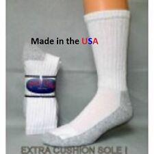12 Pair PRO TREK Brand Mens Heavy Duty Steel Toe Boot Socks, Size 10-13 USA