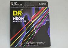 DR Luce Nera Corde the luminescent String color nmce - 10 Completa Set 6 saitig