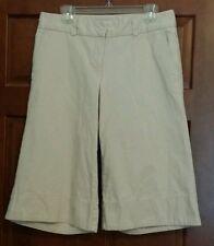 Tommy Hilfiger long walking shorts.  Size 12. Cream creme color.