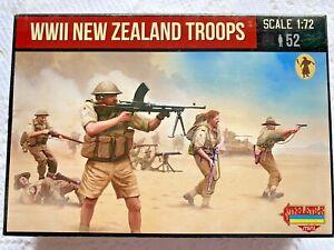 Strelets 1/72 (20mm) WWII New Zealand Infantry M111