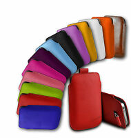 NOKIA LUMIA 625 - PU LEATHER PULL TAB CASE COVER POUCH