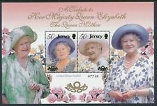2000 JERSEY QUEEN MOTHER MINISHEET FINE MINT MNH