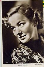 FILM ACTRESS. ANNE SHIRLEY. OLD POSTCARD