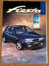 1995-96 FORD FIESTA Sales Brochure - Ghia, Si, LX, Encore
