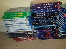 Walt Disney Pixar Blu Ray Toy Story Bambi Lion King Cinderella Mermaid Peter Pan