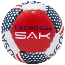 Lacrosse Sak Training Balls - Soft Less Bounce & Minimal Rebounds - Single Pack
