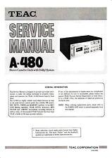 Service Manual-Anleitung für Teac A-480