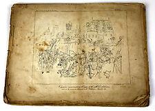 COURS D'ANTIQUITÉS DE M. DE CAUMONT. LITHOGRAPHYES DE ARCHITECTURE. FRANCE. XIX.