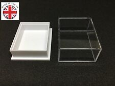 50 Quality Display Boxes Gemstone Jewellery Fossils Coin Badge Free Postage
