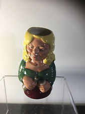 Rare figurine Toby / Character jug BETTY BITTERS  Royal Doulton D6716 England