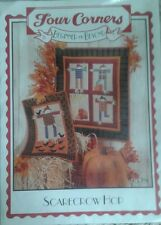 Scarecrow Hop Wallhanging Quilt Quilting Pattern, by Four Corners Designs *New*