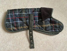 NEW BARBOUR CLASSIC TARTAN DOG COAT SIZE XS