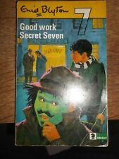 GOOD WORK SECRET SEVEN BY ENID BLYTON 1969 PAPERBACK BOOK