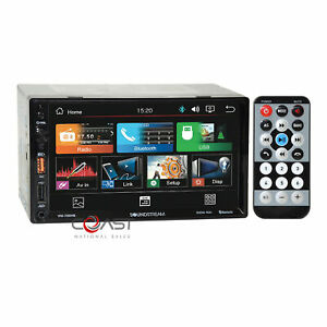 """Soundstream 7"""" LCD Bluetooth Android PhoneLink Media Stereo Receiver VM-700HB"""