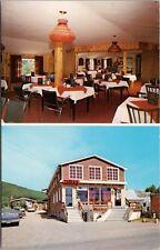 Restaurant Au Pigalle Perce Quebec QC Que Multiview Unused Vintage Postcard D36