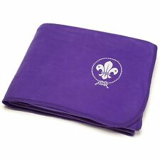 World Scouting Bedding Blanket Throw Purple Official Scout Uniform