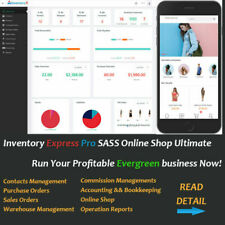 Inventory Management Stock Sales Shop Offline Online Accounting ALL IN ONE