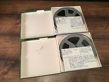"2 RTR Tapes 1/4"" x 1800 ft. 7-1/2 IPS Marriage of Figaro / Wagner Die Walkure"