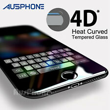 4D FULL Cover TEMPERED GLASS Screen Protector for Apple iPhone 8 7 6s Plus 5s SE