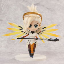 "Game OW Overwatch Support Hero Mercy PVC Figure New In Box 4"" Gift Collection"