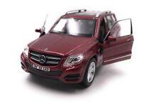 Mercedes-Benz Maquette de Voiture avec Wunschkennzeichen GLK Tous-Terrains Rouge