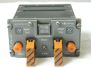 Tornado Aircraft Cockpit Air Intake Ramp Pilot System Control Panel [1R9A]