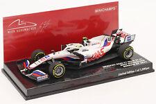 Mick Schumacher Haas VF-21 #47 Bahrain GP Formel 1 2021 1:43 Minichamps