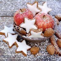 Papierservietten Servietten Apples & Cookies Weihnachten Herbst Geschenkidee