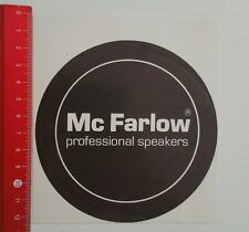 ADESIVI/Sticker: MC Farlow Professional Speakers (18061638)