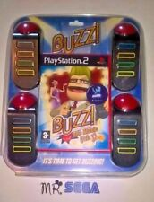 BUZZ THE MUSIC QUIZ for PLAYSTATION 2 'RARE & HARD TO FIND' (with BUZZERS')