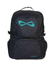 Nfinity Backpack Sparkle Black/Teal