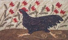 Chicken Run Pn143 Punchneedle Punch Needle Embroidery Teresa Kogut Pattern