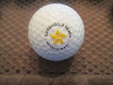 Logo Golf Ball-Carambola Beach And Golf Resort.St. Croix-Usvi.Rare