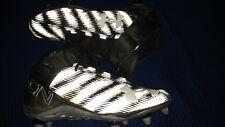 Under Armour Football Cleats Mens Size 13 E 13E C17 Black & Silver