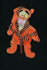 Peluche doudou tigrou DISNEY NICOTOY peignoir bonnet orange winnie 33 cm TTBE