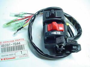 Kawasaki NOS RH Handlebar Switch 1991-98 KSF250 Mojave 46091-1544 OEM New
