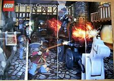 LEGO 4193 Pirates of the Caribbean On Stranger Tides London Escape Poster *NEW*
